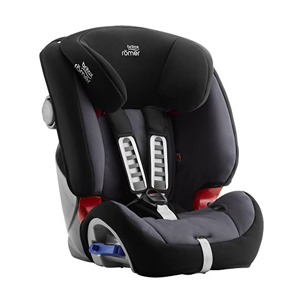 Britax Römer MULTI-TECH III Car Seat (9 Months-6 Years | 9-25 kg), Storm Grey Britax Römer This MULTI TECH III will come in a Blue Marble design cover which is made from a more premium fabric with extra detailing Enhanced side impact protection - the SICT feature offers High quality protection to your child in the event of a side collision Extended rearward facing - rearward facing car seats offer the best protection in the event of a frontal collision - the most frequent type of accident on the roads 3