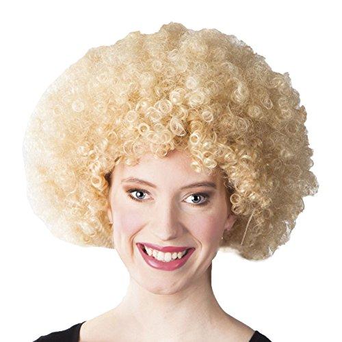 (Boland 86013 Erwachsenenperücke Afro, blond, One Size)