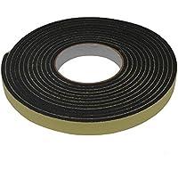 AERZETIX: Cinta adhesiva para aislamiento de ventanas y puertas 5 metros Color negro C3567