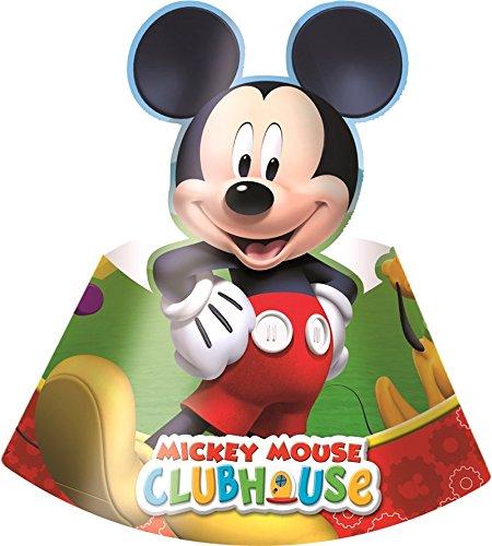 Gabbiano 6 cappelli di cartone decorato mickey mouse club hoyse disney