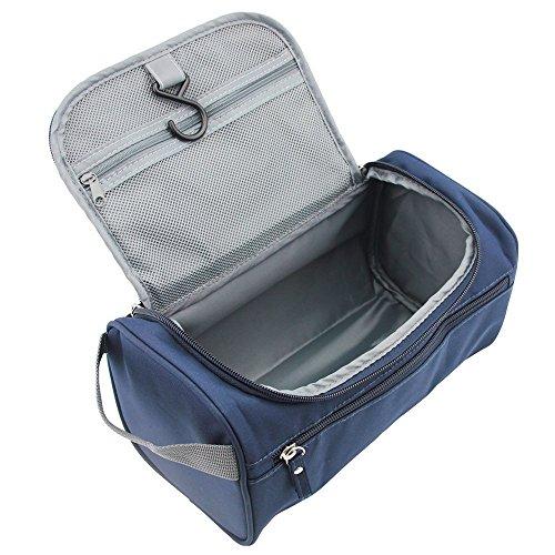 Kaisir Viaje artículos de tocador Bolsa viaje Bolsa viaje baño bolsa aseo Kit viaje organización hombres, azul