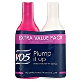 VO5 Plump It Up Shampoo and Conditioner Twin Pack, Pack of 3