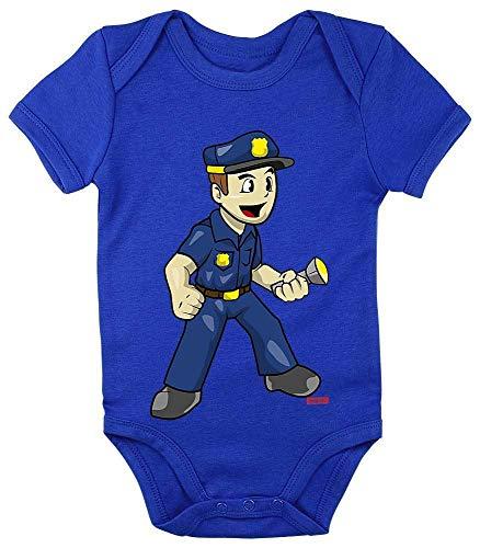 König Für Erwachsenen Plus Kostüm - HARIZ Baby Body Kurzarm Polizist Witzig