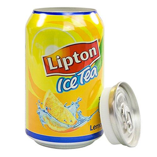 Dosensafe Dosentresor Geldversteck Lipton Ice Tea, 11,5 x 6,0 cm