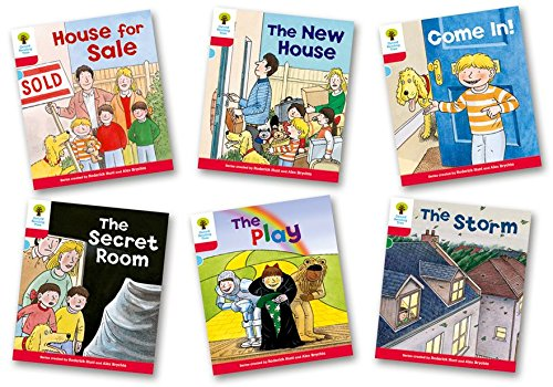 Portada del libro Oxford Reading Tree Biff, Chip and Kipper Level 4. Stories: Mixed Pack of 6