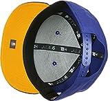 New Era 9FIFTY Team Classic Golden State Warriors Snapback Kappe Unisex, blau/gelb, S/M-54,9-59,6 cm