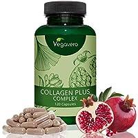 COLLAGENE VEGETALE Vegavero® | L'UNICO NON OTTENUTO DA SCARTI ANIMALI | 120 capsule da 700 mg | Senza Magnesio Stearato | Vegan