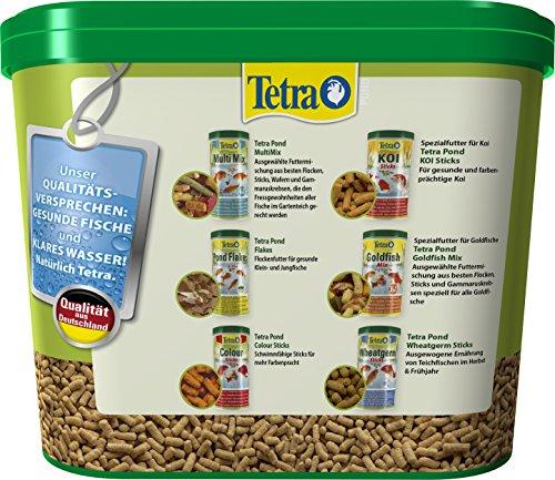 Tetra Pond Sticks (Hauptfutter für alle Gartenteichfische in Form von schwimmfähigen Sticks), 7 Liter Eimer - 5
