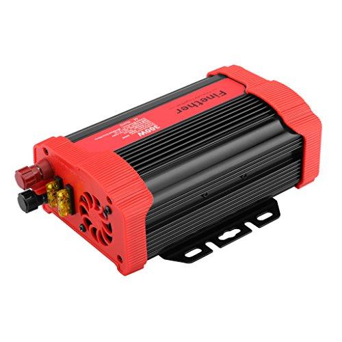 Finether-Inversor de voltage de coche,...