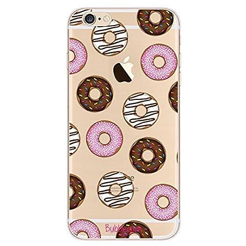 Bubblegum Coque de protection souple en TPU pour iPhone Motif nourriture, Doughnut, iPhone 4 4s