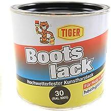 1d552445f4094 Kunstharzlack Tiger Bootslack schwarz 30 hochglänzend 0