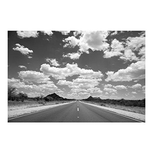 Bilderwelten Carta da parati - Route 66 II - Carta da Parati Fotomurale Largo Fotomurali tessuto non tessuto Fotomurale tappezzeria 3D murale design moderna, Dimensione AxL: 255cm x 384cm