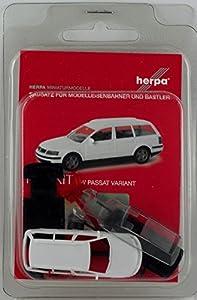 Herpa 012249-005 VW Passat Variant - Mini Kit, Color Blanco