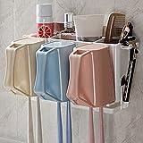 JIAYOU Wasch Paßt Zahnbürste Shelf Zahnbürstenhalter Cups Eine Wand-Cup Zahnbürste Zahnstange Familie von Drei Bürsten,#1