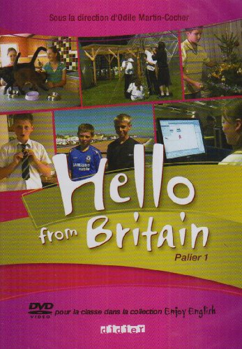 Hello from Britain 6e - 5e DVD + Livret par Cocher-O