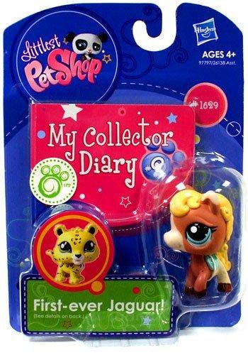 Littles Pet Shop - My Collector Diary #2 - #1629 Pferd - OVP (Littlest Pet Shop-spielzeug Pferd)