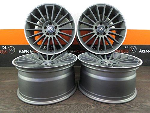 Mercedes A 176C 204205CL CLA E 212211GLA GLK S 22120pollici cerchioni in alluminio Nuovo