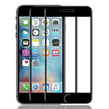 ZOVER Screen Protector Compatible for iPhone 7 Plus / 8 Plus 9D Tempered Glass (2 Packs),High Clear, Anti Impact Scratch and Fingerprint