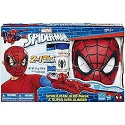 Marvel C3308E270 Spiderman - Máscara y lanzarredes, 40 x 25 cm