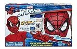 Spiderman - Máscara y lanzarredes, 40 x 25 cm (Hasbro C3308E270)