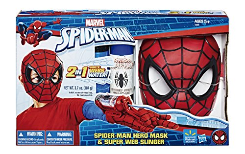 Spiderman Masque et Lance-Filets 40 x 25 cm (Hasbro C3308E270)