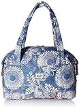 Herschel Strand Duffel Tasche Sporttasche, blau/weiß/braun, One Size
