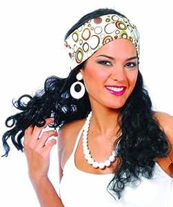 Alco Peluca Hippie Negra (ENVASE Caja)