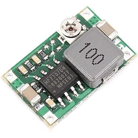 Goliton Mini360 Mini-360 modello di modulo di potenza step-down DC DC a bassa potenza del modulo alimentazione elettrica del veicolo - Meglio di LM2596 - Pow Alimentazione