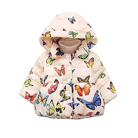 Bornbay Baby Girl Cotton Coat Infant Winter Snowsuit Thicker Outwear