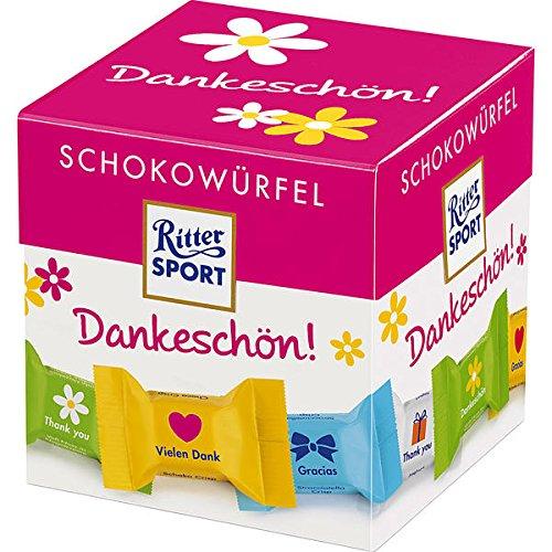 Preisvergleich Produktbild Ritter Sport Schokowürfel Box Dankeschön 8x176g