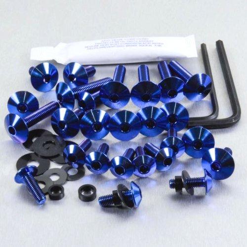 1000 Rf Kit (Titanium Fairing Kit RSV 1000 Tuono RF 02-08 Blue)