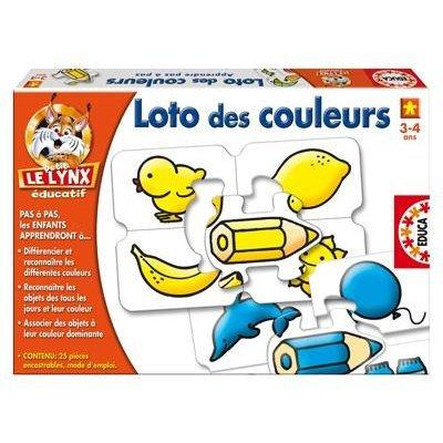 Educa - 13583 - Jeu Educatif - Le Loto Des Couleurs