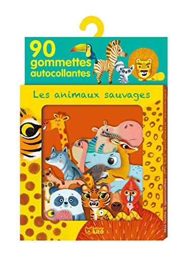 Ma boîte à gommettes - Les animaux sauvages - de 3 à 5 ans par Amandine Piu