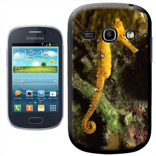 Unterwasser Hard Case für Samsung Modelle, plastik, Long Snout Yellow Seahorse, Samsung Fame (S6810)