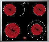 Bauknecht EKV 6640 IN Elektro-Kochfeld / Glaskeramik / Breite: 58 cm / Bräter-Zweikreis-Zone / DUO-Zweikreis-Zone