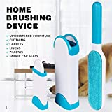 Piesome Pet Fur, Hair and Lint Remover with Self-Cleaning Base Double-Sided Brush