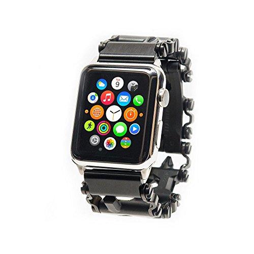 Preisvergleich Produktbild Uhradapter für Leatherman TREAD und Apple Watch silber