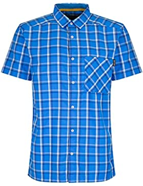 Regatta Mens Mindano II Short Sleeve Wicking Quick Drying Button Shirt