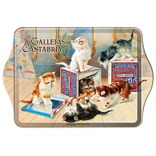 Editions Clouet 58281 - Mini Plateau Galletas Cantabria - Biscuits Chats