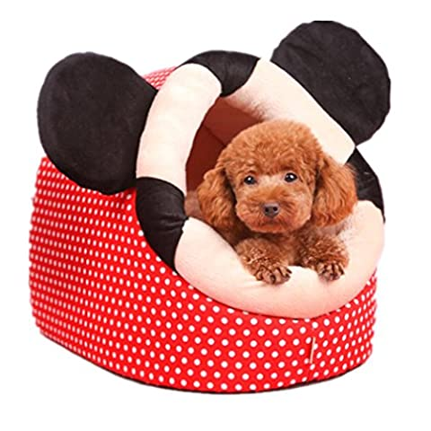 Doghouse Cat Woother Winter Warmer Teddy Bears Pomeranian Chihuahua Cat House