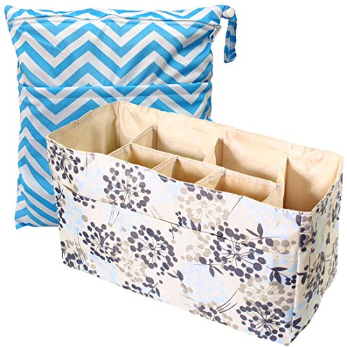 kf-baby-diaper-bag-insert-organizer-firm-compartments-wet-dry-bag-value-combo