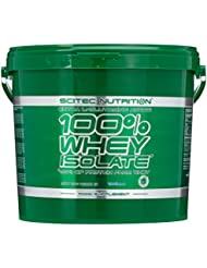 Scitec Nutrition Whey Isolate Vanille, 1er Pack (1 x 4000 g)