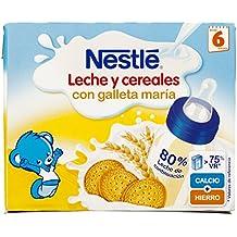 Nestlé - Leche y Cereales con Galleta Maria, alimento de continuación listo para tomar -