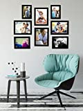 Best Gifts & Decor Friend Frame Two Pictures - Art Street - Set of 8 Individual Black Review