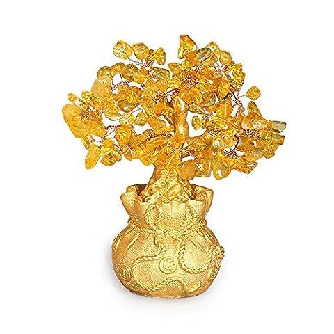 Geld Baum Pflanze Skulptur, Designer Figur Skulptur, Figuren und Statuen Ornament Handwerk für zu Hause Wohnzimmer Büro Dekoration / dekorative Centerpiece - Tier Art Decor