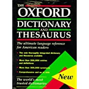 Oxford Dictionary and Thesaurus American Edition