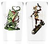 GB eye LTD, DC Comics, Harley and Ivy Bombshells, Set de 2 verres à bière