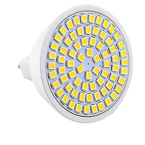 JIALUN-LED MR16 72LED 7W 2835SMD 600-700Lm 4000-4500K Blanco Natural LED proyector CA...