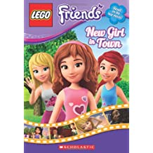 New Girl in Town: Movie Novelization (Lego Friends; Chapter Books)