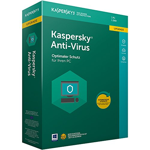 Kaspersky Anti-Virus 2018 Upgrade | 1 Gerät | 1 Jahr | Windows | Download (Information-security-programm)